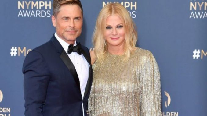 Sheryl Berkoff is the wife of American artist, Rob Lowe. Source: Getty images