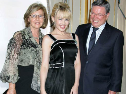 Kylie With Her Parents
