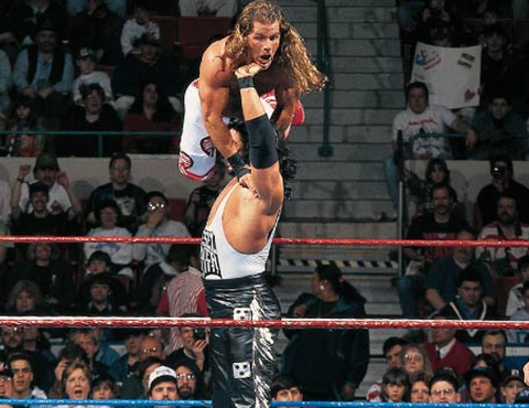 Kevin Owens was inspired int wrestling by watching this match between Diesel and Shawn Michaels in Wrestle Mania IX