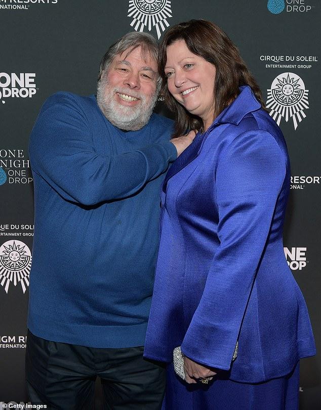 steve wozniak and his wife