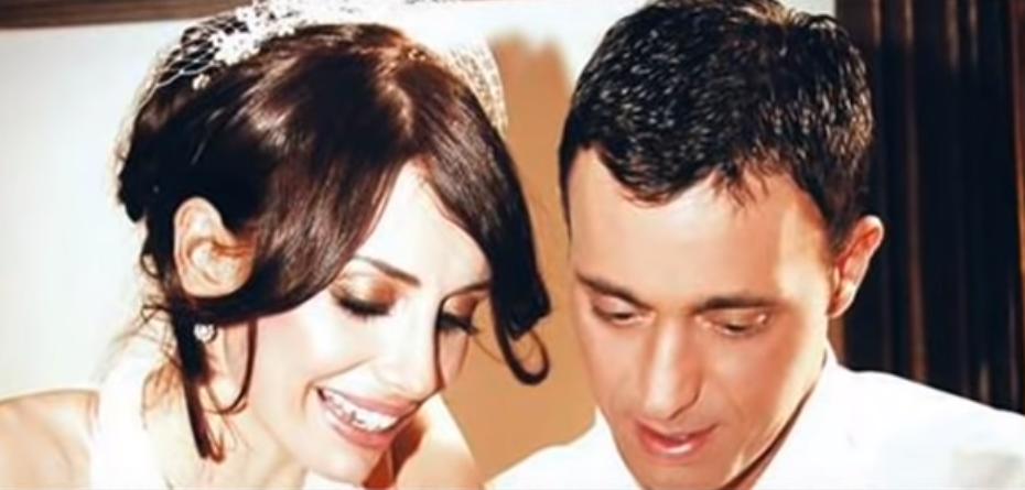 Emina and ex-husband Mustafa