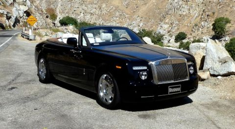 Sonal Chappelle's father, Dave's Rolls Royce car.