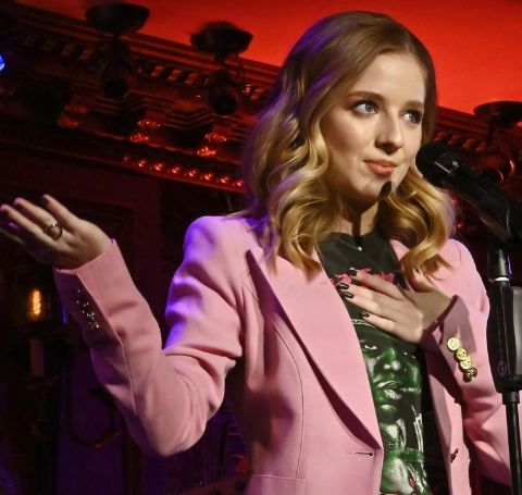 Jackie Evancho is graduated in 2018 from Pine-Richland High school.