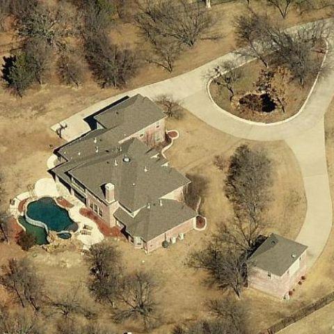 Marjorie Elaine Harvey's house of Little, Elm.