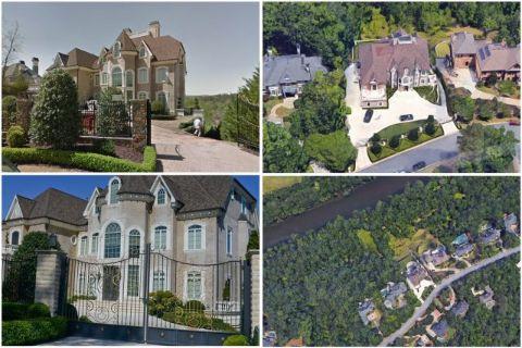 Marjorie Elaine Harvey's mansion of Atlanta.