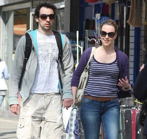Miranda Raison and her ex-boyfriend, Ralf Little.