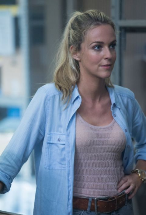Miranda Raison clicked during one of the shooting projects.