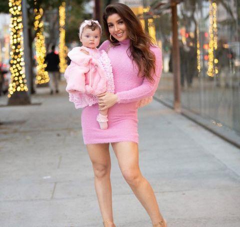 Melissa Ann Smith has a beautiful baby doll name, London Rose Kowalski