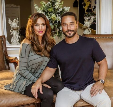 Amber Marchese is happily married with her husband James Marchese.