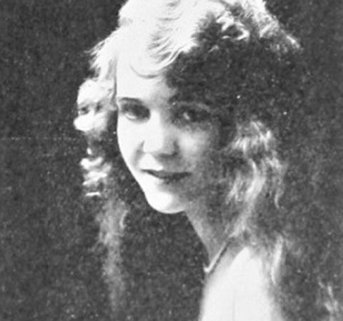 Former actress Ethel Fleming poses for a picture.