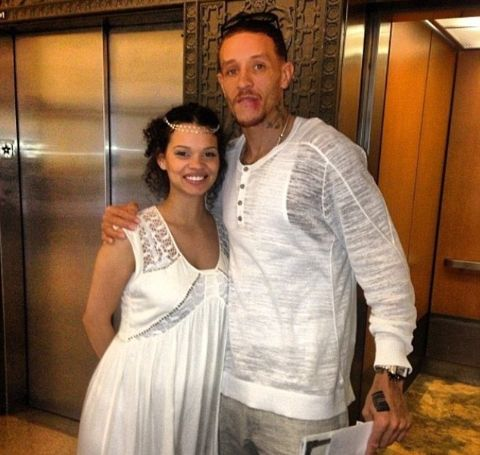 Caressa Madden is the second wife of the former NBA star, Delonte West.