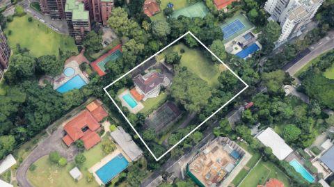 Eduardo Saverin's mansion at Singapore.