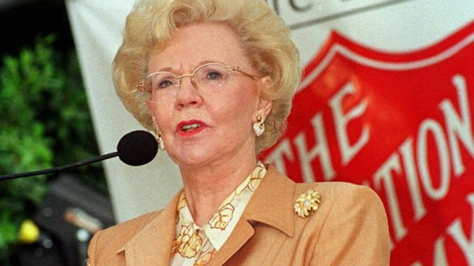 Joan Kroc is the third wife of late CEO of McDonald.