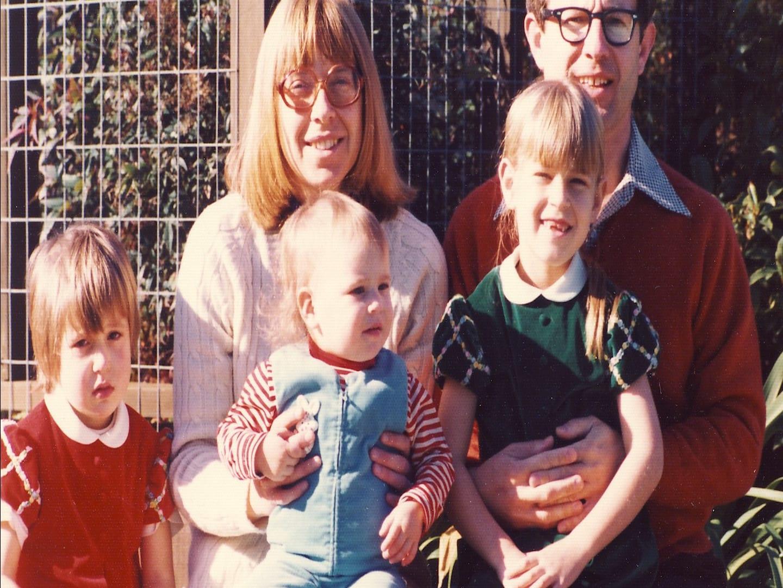 Anne Wojcicki's childhood