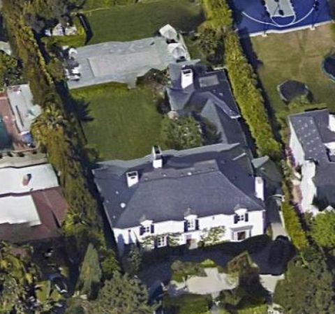 Robert Kotick's massive villa at California.