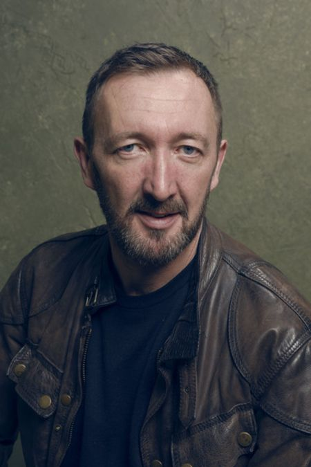 Actor, Ralph Ineson giving a pose.