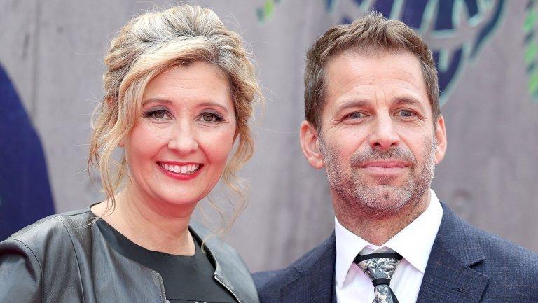 Zack with his wife Deborah