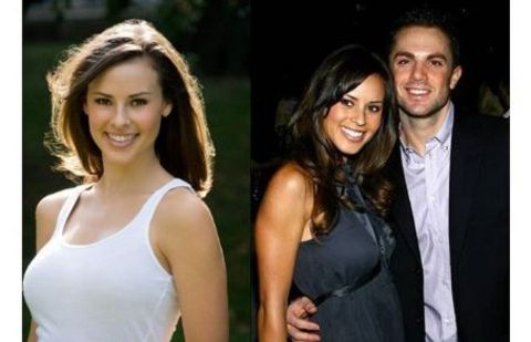 Dianna Russini and David wright was in relationship.