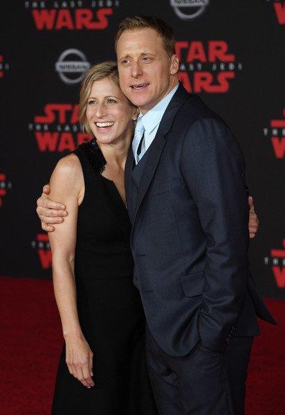 Alan Tudyk with Charissa Barton