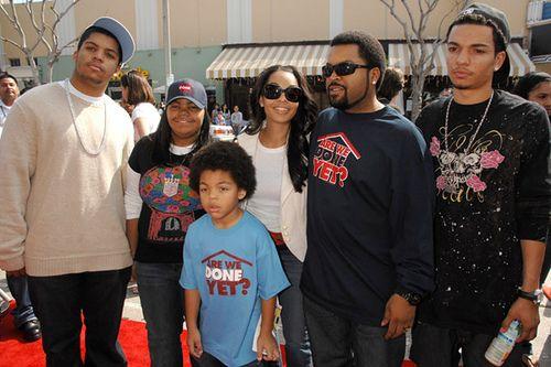 O'Shea Jackson's family