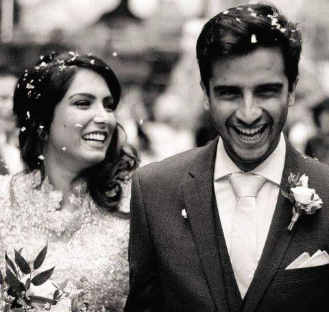 Hamza Jeetooais married with Natalie Perera.