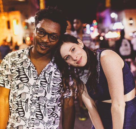 Theo Spielberg with his sister, Sasha Spielberg, together formed the band, Wardell.