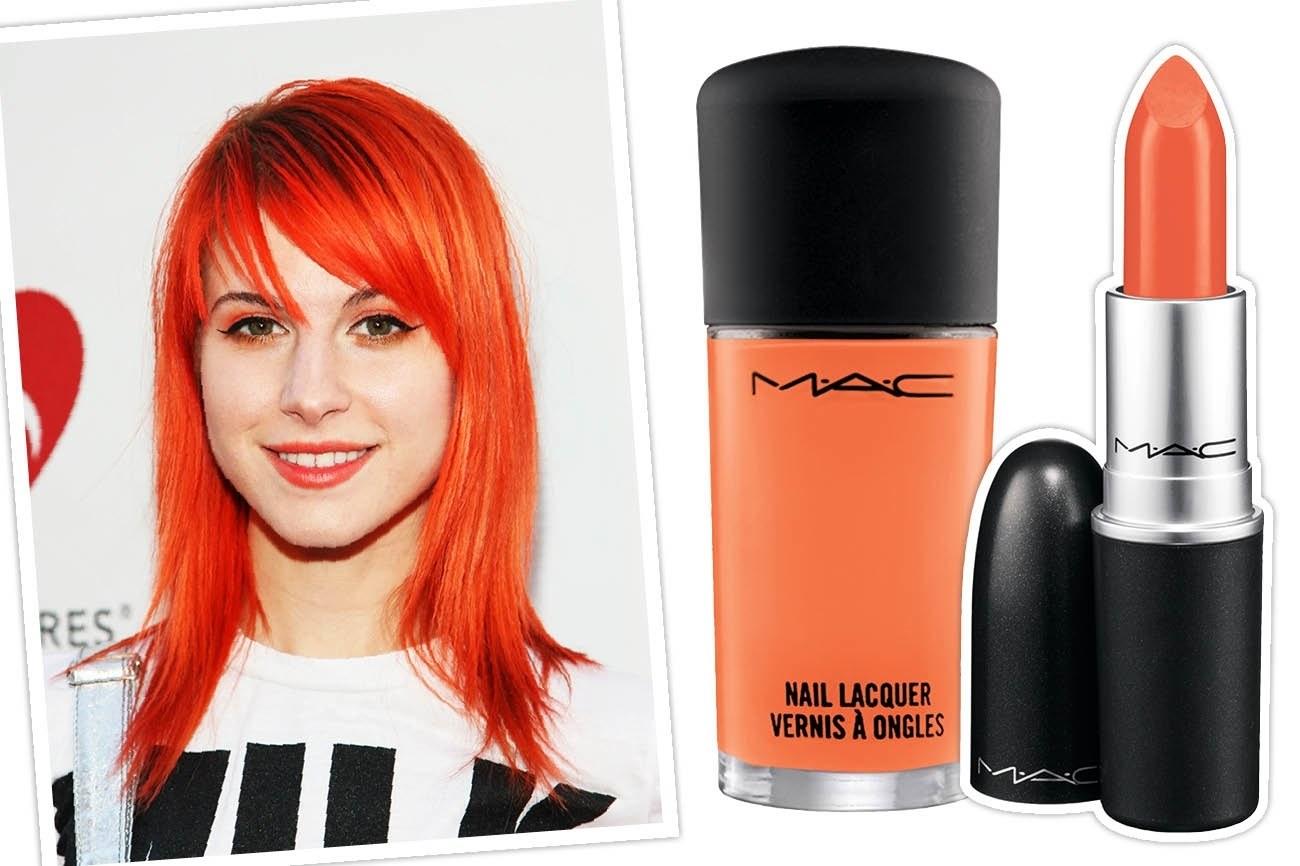 Hayley Williams for MAC Cosmetics