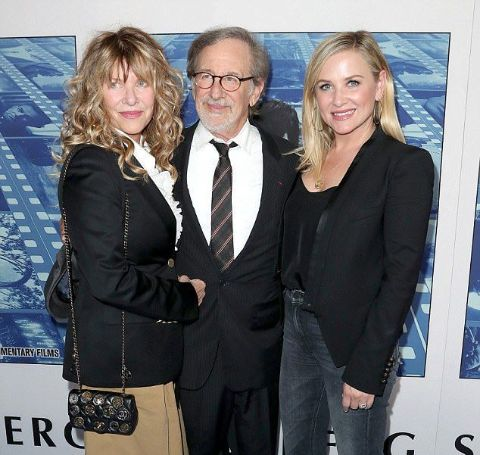 Jessica Capshaw is the daughter of Steven Spielberg and Kate Capshaw.