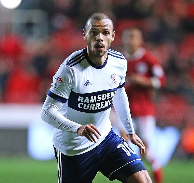 Martin Braithwaite Middlesbrough