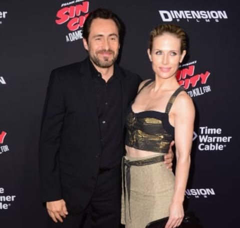Stefanie Sherk was engaged with the Mexican actor and director, Demián Bichir.
