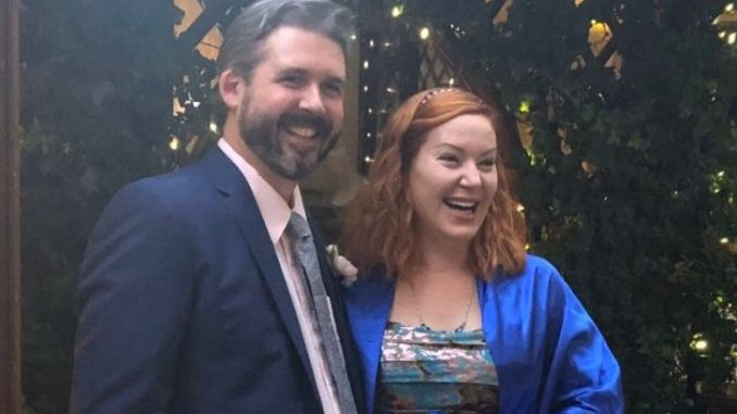 Rob Traegler tied the knot with Amy Allen in October 2018. Source: Twitter