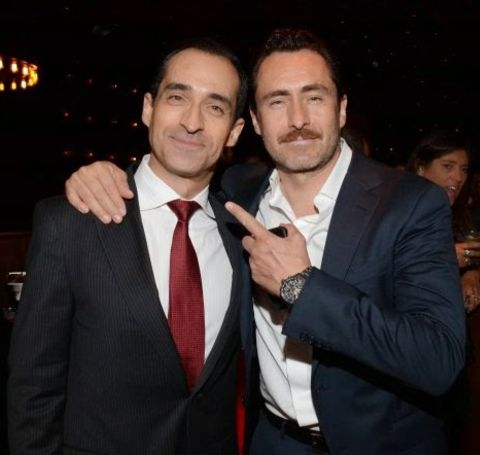 Bruno Bichir is the young brother of Demián Bichir.