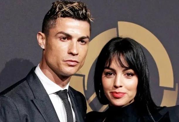 Georgina Rodriguez With Cristiano Ronaldo