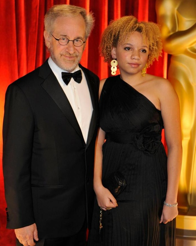 Mikaela Spielberg father
