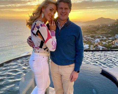 Tavia Hunt is the wife of Clark Hunt. Source: Instagram