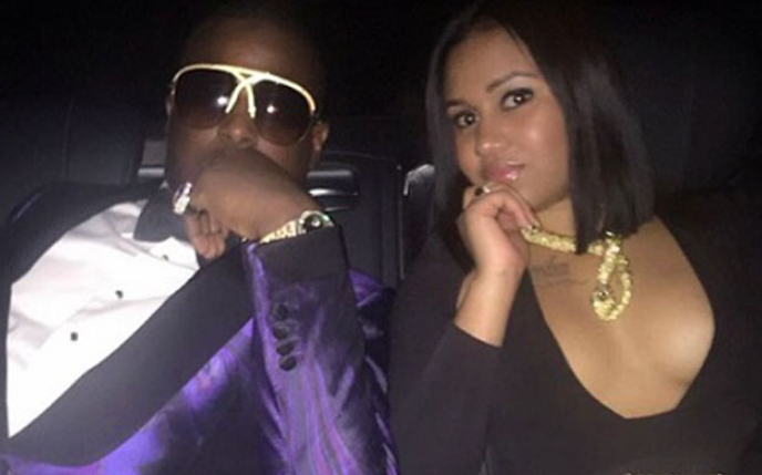 Dion Waiters With His Girlfriend Brandy