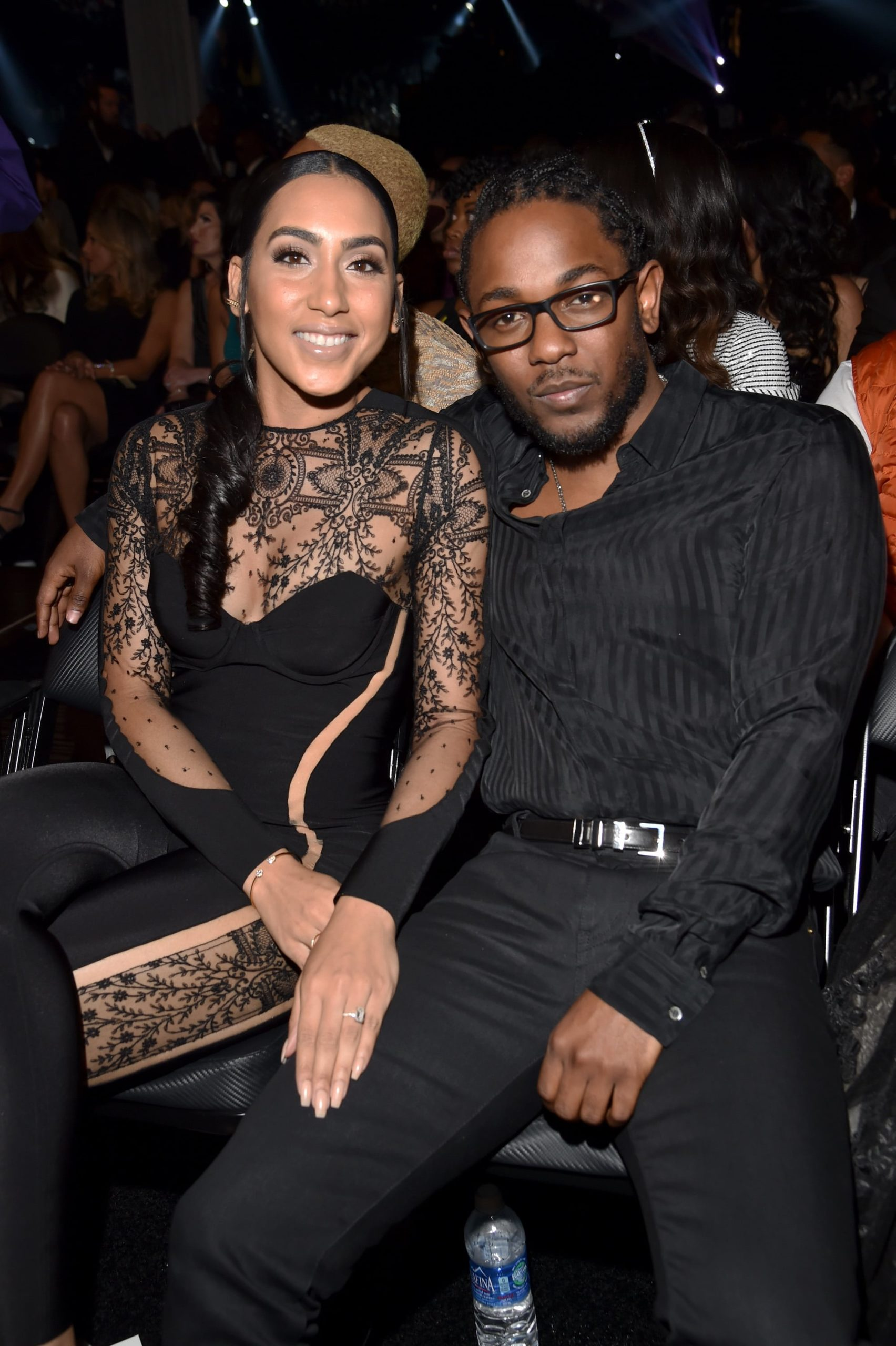 kendrick lamar with Whitney Alford
