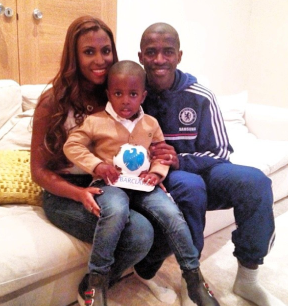 Ramires With His Wife And Child