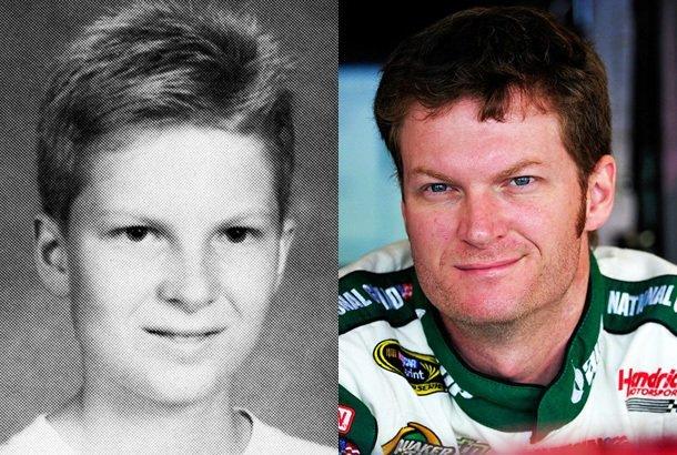 Dale Earnhardt Jr in his childhood