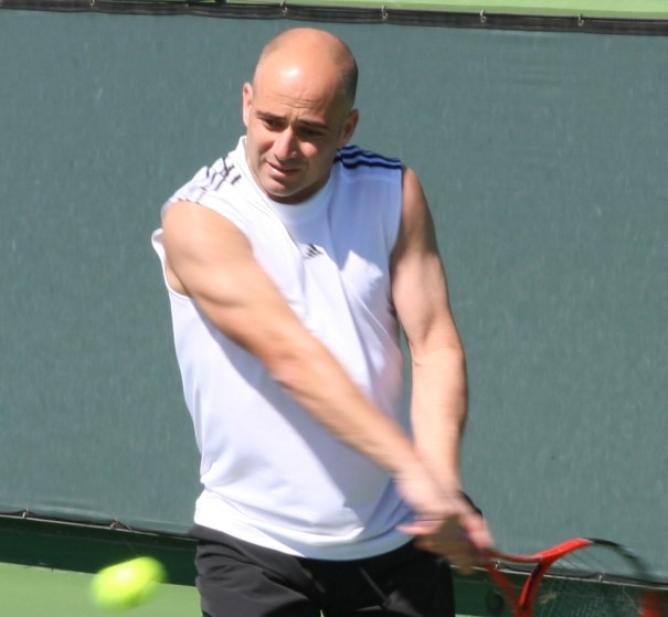 Andre Agassi stats