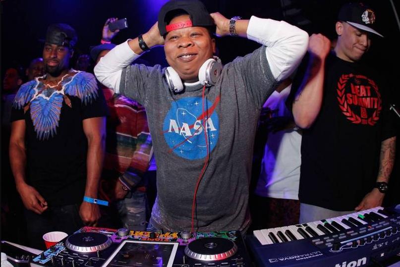 Mannie Fresh, a famous DJ