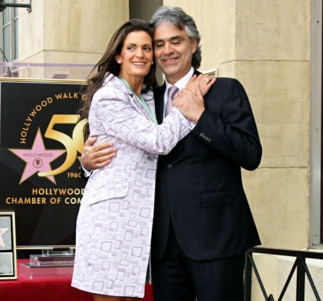 Andrea Bocelli Wife
