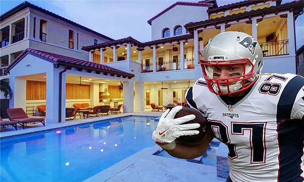 Rob Gronkowski House, Address, Area, Price, Rooms and Other Features