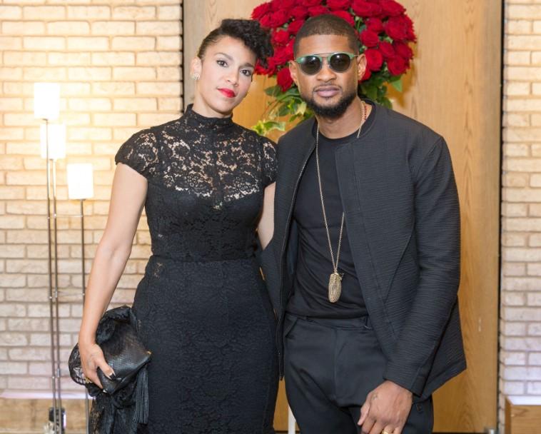 Usher Grace Wife