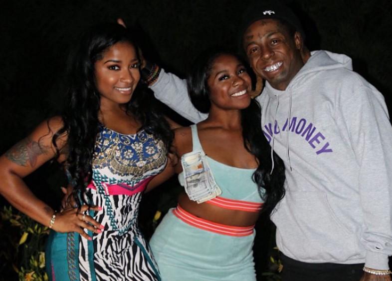 Toya Johnson Family