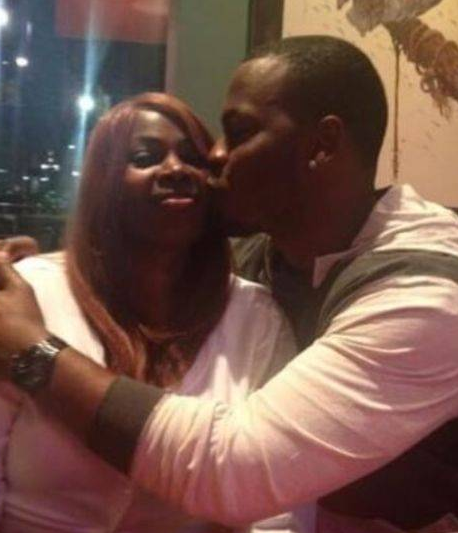 Tarvaris Jackson With His Wife Lakitta Jackson