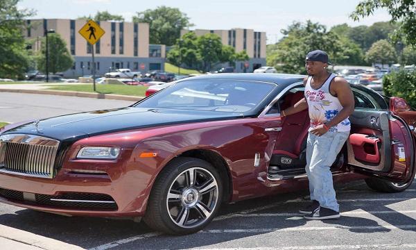 LeSean McCoy Rolls Royce Phantom