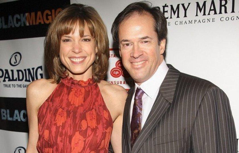 Hannah and her husband Dan Hicks