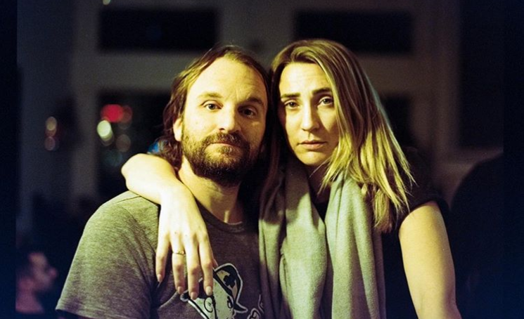 Jessica Harmon with her husband Lenny Jacobson