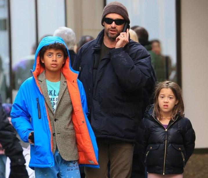 Hugh Jackman Kids